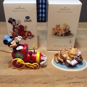 Hallmark Keepsake Mickey Mouse Winnie the Pooh